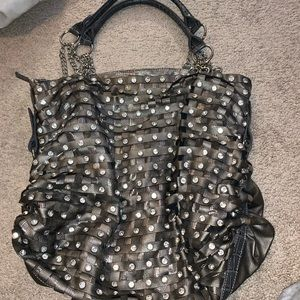 Handbags - bling woven purse